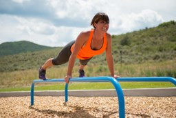 Bild von MoveStrong Fitground Low Parallel Bars - Outdoor Equipment
