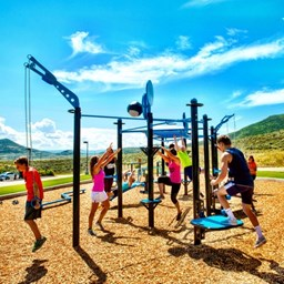 Bild für Kategorie OUTDOOR FITNESS-, FUNCTIONAL-, CALISTHENICS EQUIPMENT