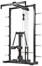 Bild von ATX® - Lat Machine Option for ATX® Smith-Cable-Rack - Plate Load